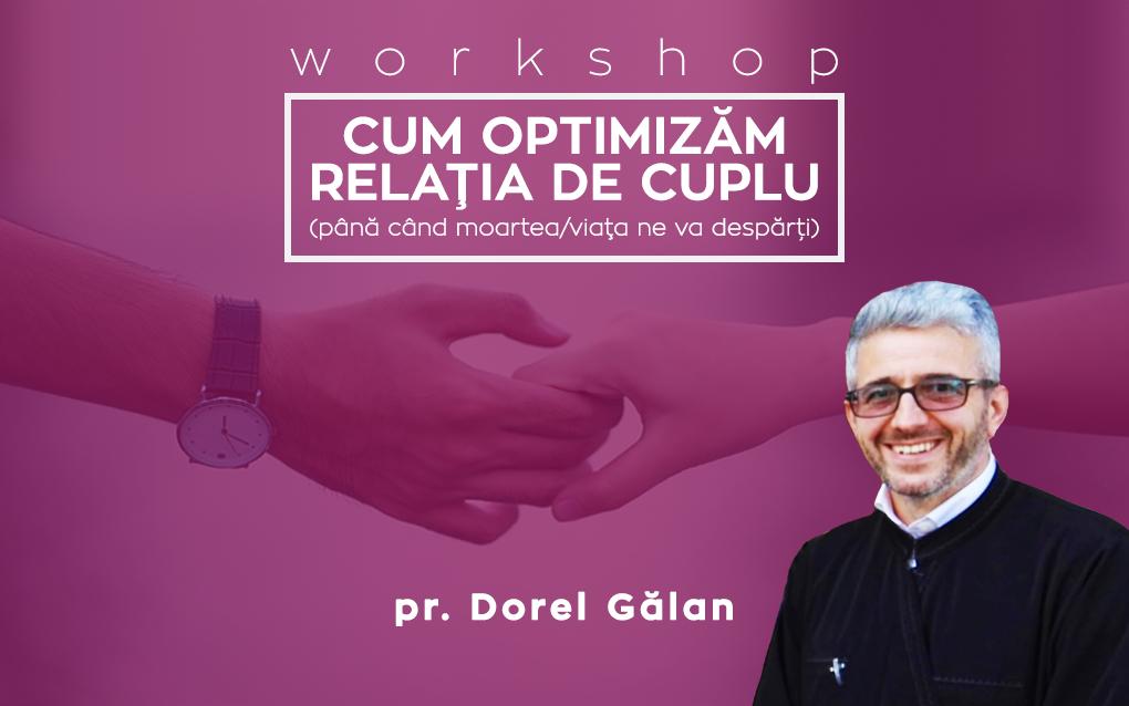 workshop - cum optimizam relatia de cuplu
