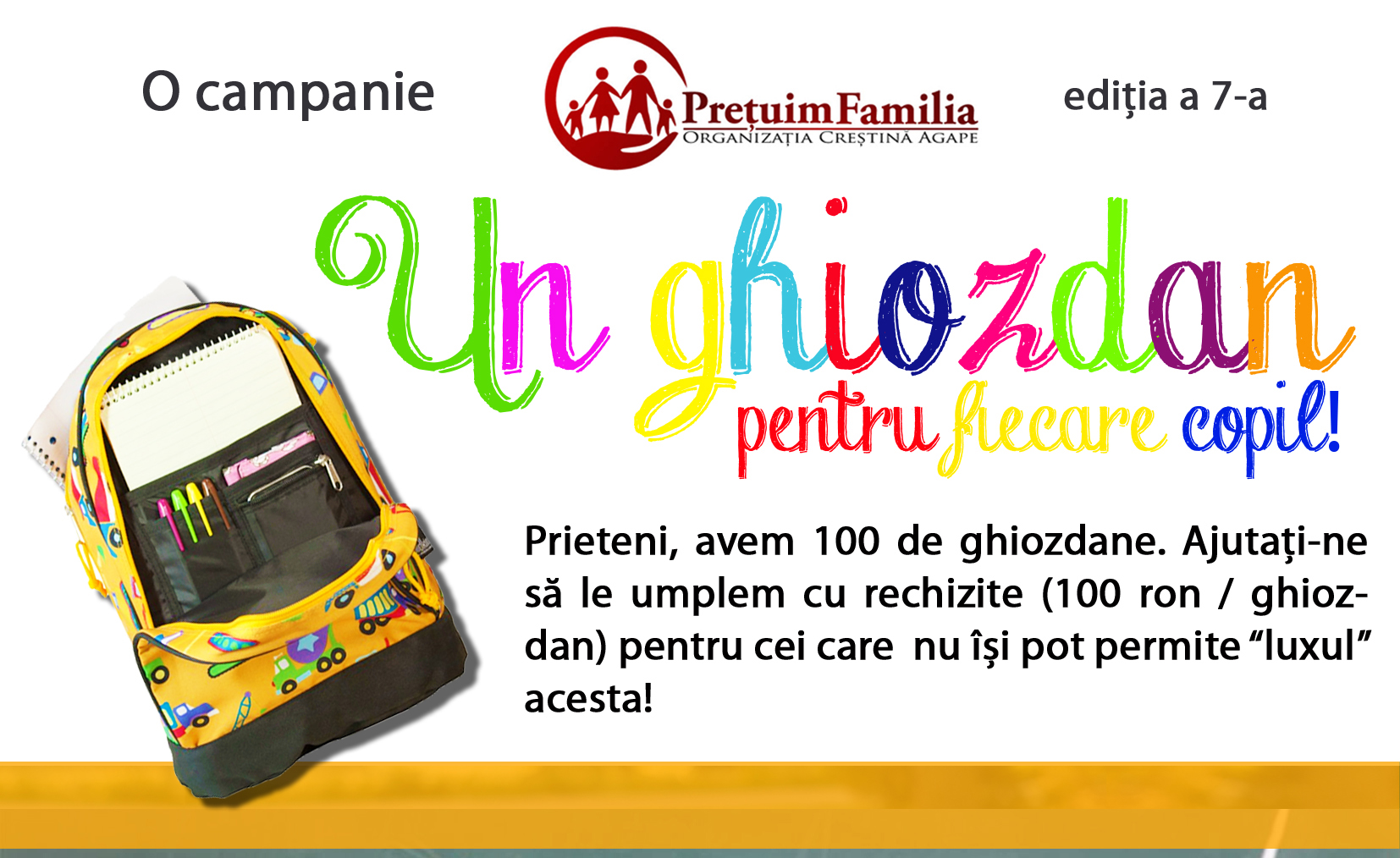 Campanie Ghiozdane 2019 site